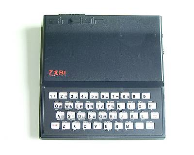 Weller Computer Collection: Sinclair ZX-81